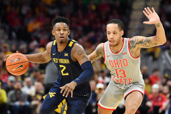 No. 22 West Virginia rallies, upsets No. 2 Ohio State 67-59