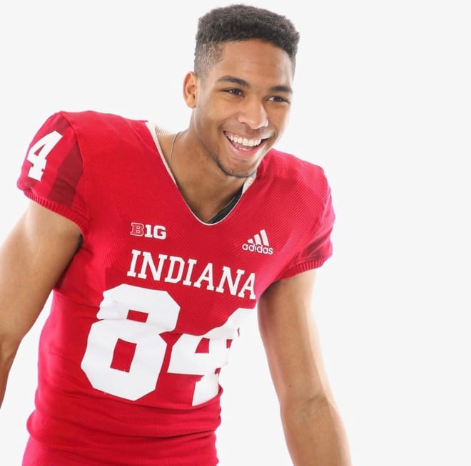 College of DuPage wide receiver Christian Harris committed to IU Tuesday night. He'll join junior college teammate Bryan Parker at IU this fall.