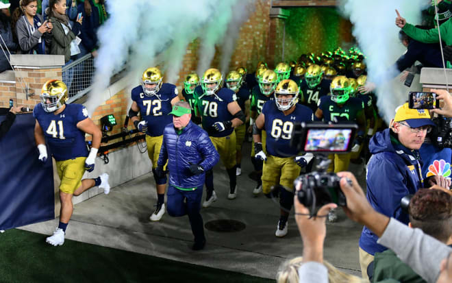 At least three winning streaks for Notre Dame entering 2020 will be on the line.