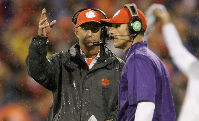 Brent Venables is now in his seventh season as Clemson's defensive coordinator.