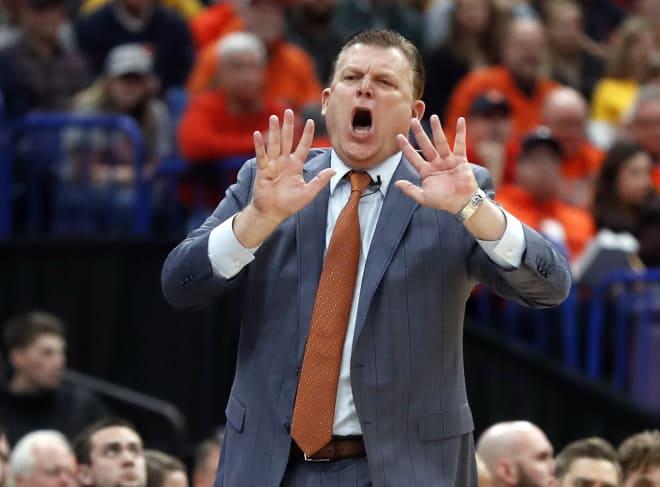 Illinois coach Brad Underwood
