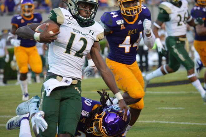 Kendall Futrell (44) and the rest of the ECU defense will need to come up big in order to pick up their first AAC win against Temple.