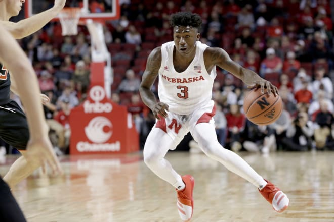 Sophomore guard Cam Mack nearly had a triple-double but it wasn't enough to get Nebraska's first win of the season.