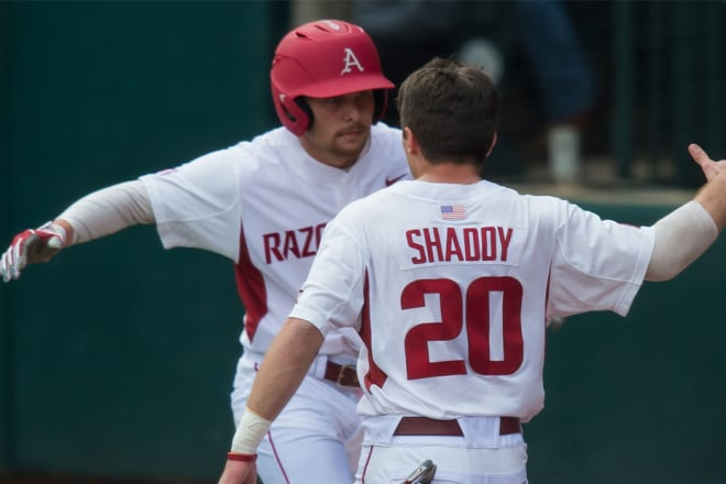 Unforced errors doom Hogs in upset loss to Cal Poly, 4-3