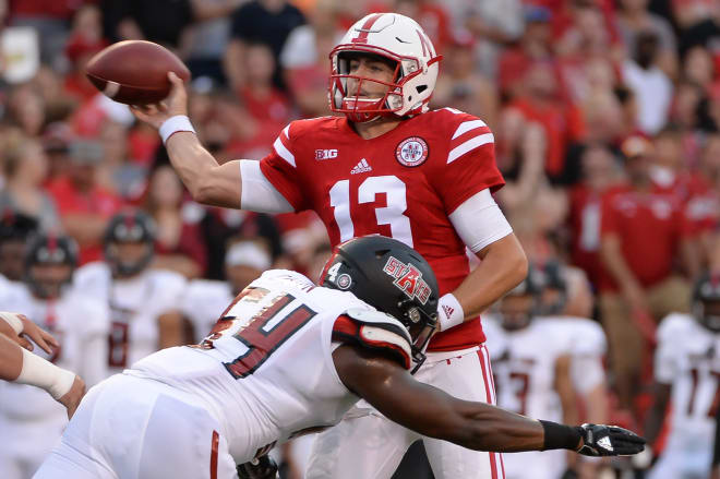 How will quarterback Tanner Lee fare in his first true test at Nebraska?