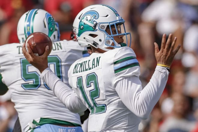 Quarterback Justin McMillan and Tulane picked up their third straight victory in a 24-17 win over East Carolina.