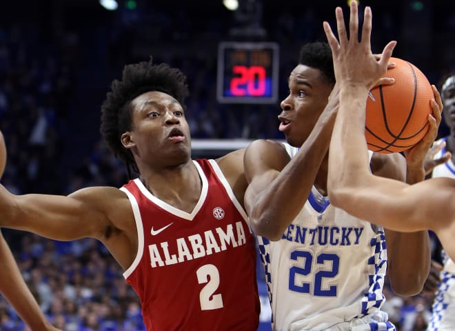 The bench leads the Kentucky basketball team over Alabama