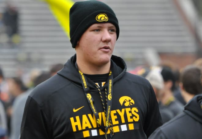In-state offensive lineman Tyler Endres is a key member of Iowa's 2019 recruiting class.