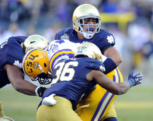 Citrus Bowl: 10-win season on the line for Notre Dame, LSU