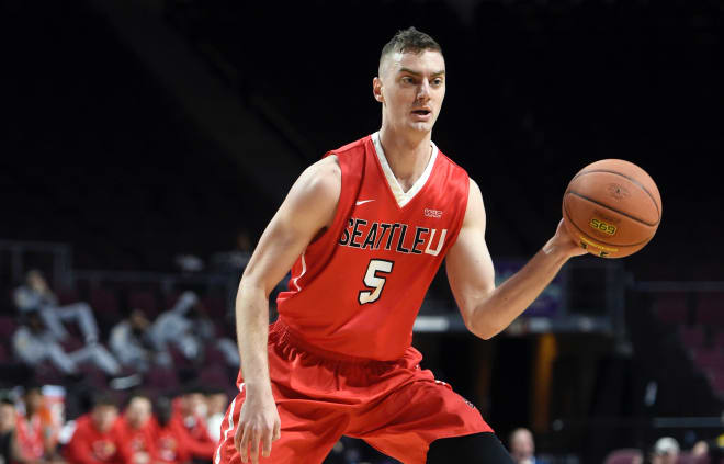 Nebraska picked up a commitment from Seattle University grad transfer Matej Kavas, a carer 46-percent 3-point shooter.