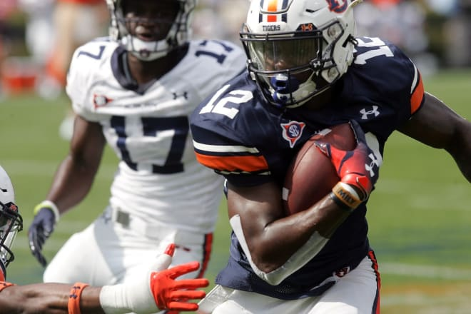 AuburnSports - Stove determined to show his receiving skills
