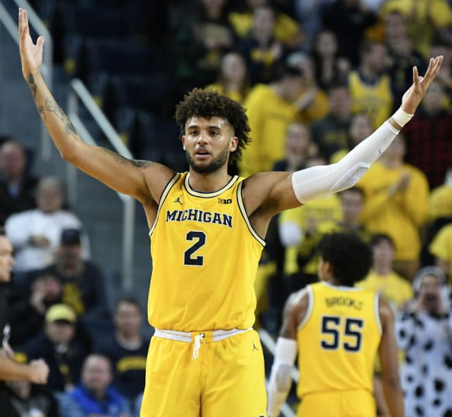 Thewolverine Michigan Basketball Isaiah Livers Day To Day