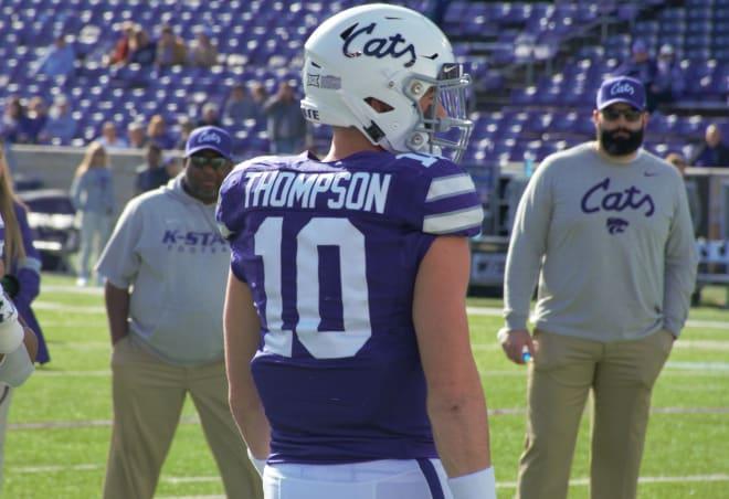 Senior Skylar Thompson returns as the starting quarterback for the Wildcats