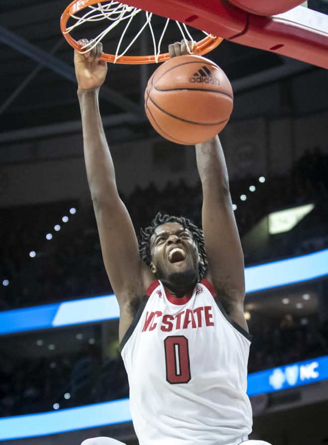 NC State redshirt juniors D.J. Funderburk, above, and Devon Daniels will be testing the NBA Draft process.