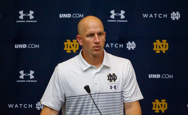 Clark Lea is looking to have ample rotation at linebacker, the defensive line and the second corner spot.