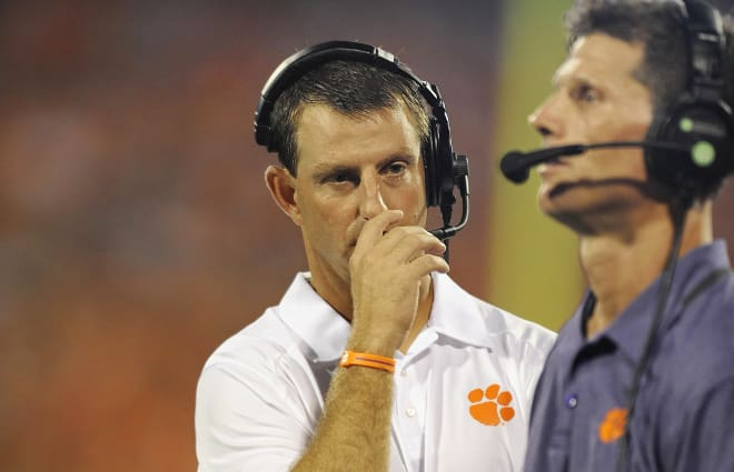 Clemson is Venables' third coaching stop at a power 5 program, joining of course Oklahoma and Kansas State.