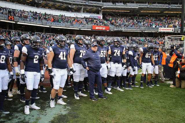 Notre Dame's preparations plans for the Cotton Bowl were outlined by Brian Kelly.