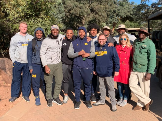 TheWolverine.com - Jim Harbaugh, Matt Dudek, Others Recap What They Saw On The African Safari