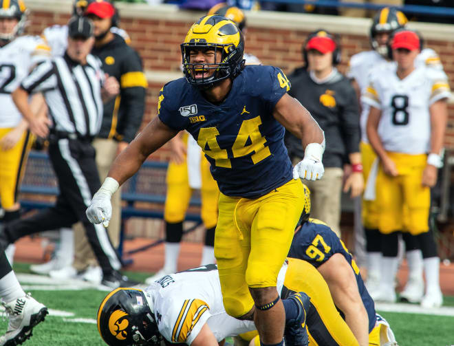 Michigan Wolverines football's Cam McGrone is on the Butkus Award watch list.