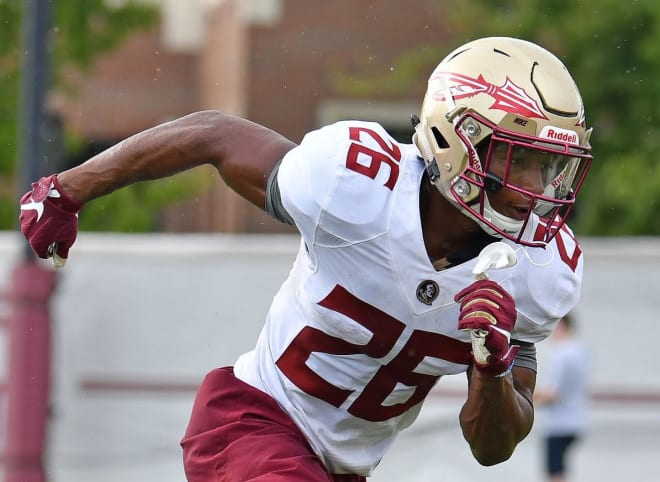 Warchant - Florida State CB Asante Samuel making noise with his play and his mouth