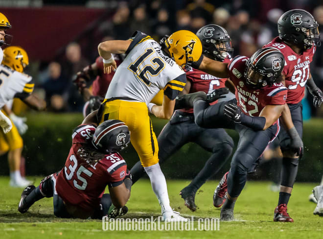 GamecockCentral - Inside the snap count - South Carolina Gamecocks football vs. App State