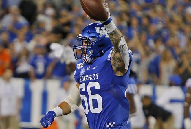 Kentucky LB Kash Daniel denies trying to injure Florida QB Kyle Trask