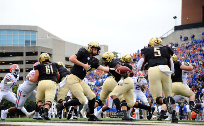 Vandy lost a great quarterback in Kyle Shurmur but welcomes back a great running back in Ke'Shawn Vaughn.