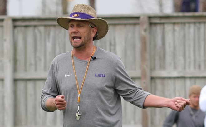 LSU ready to split with coordinator after Citrus Bowl