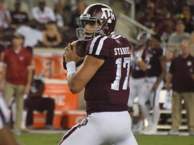 QB Nick Starkel transferring from Texas A&M Aggies