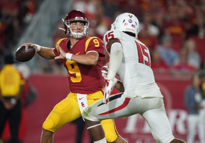 TrojanSports - Trojan Talk Podcast: Max Browne dissects USC's new offense, QB transition