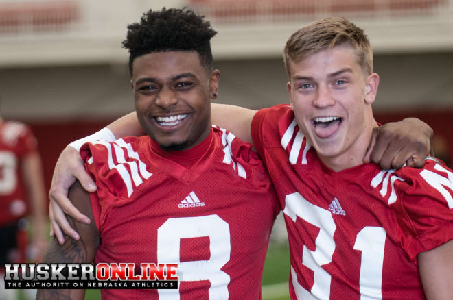 WR Stanley Morgan Jr. and Conor Young