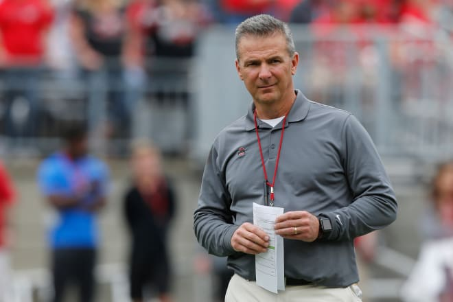 Ohio State football coach Urban Meyer put on leave, investigation opened