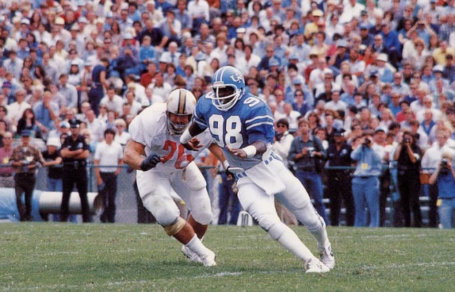 Lawrence Taylor was outstanding at UNC before be changed the NFL more than any defensive player ever.