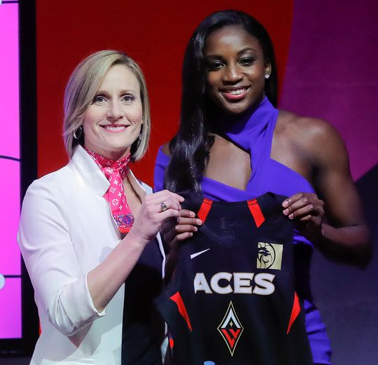 Jackie Young top pick in WNBA draft, going to Las Vegas Aces
