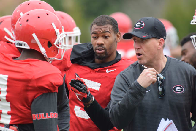 Kirby Smart tabbed James Coley as the Bulldogs' offensive coordinator.