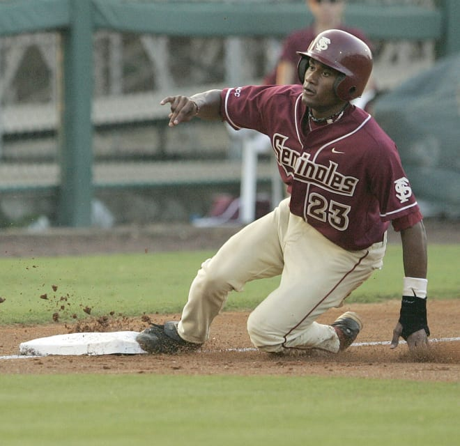 Former FSU star Tony Thomas makes pro baseball history, steals first base!