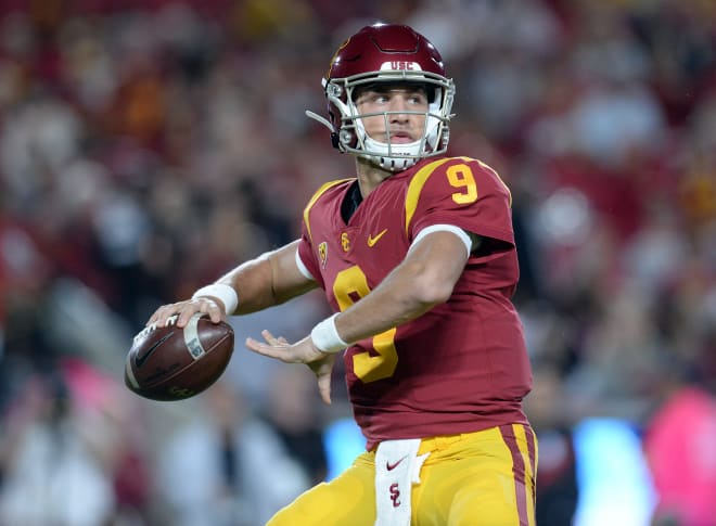 Freshman quarterback Kedon Slovis has seized his opportunity this fall and made USC's 2020 QB situation very interesting.