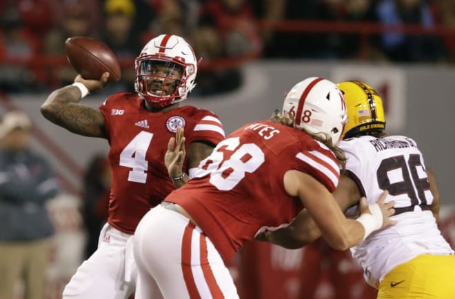 Tommy Armstrong will be available to play and will likely start at Iowa on Friday.