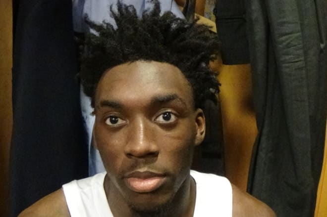 Nassir Little and six other Tar Heels discuss their 88-73 victory over Iona in the first round on Friday night.