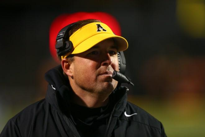 Appalachian State head coach Eliah Drinkwitz is an Arkansas native.