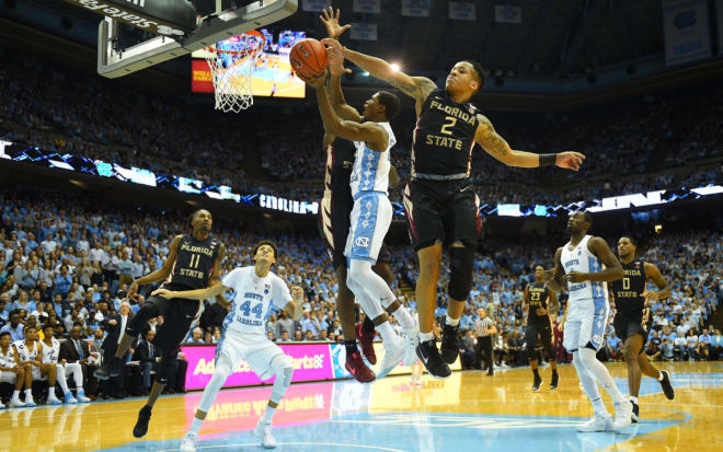 Florida State saw their 12-game winning streak end Saturday with a loss to North Carolina.