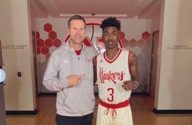 Nebraska landed its point guard of the future in Salt Lake (Utah) C.C. sophomore Cameron Mack on Saturday night.