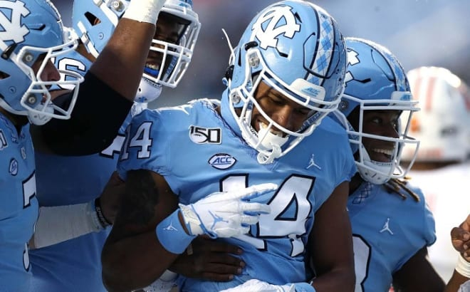UNC WR Emery Simmons Ready For The Next Step