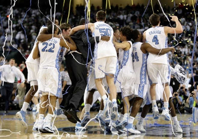 THI looks at the top UNC basketball teams ever, focusing here on the 2009 Tar Heels.