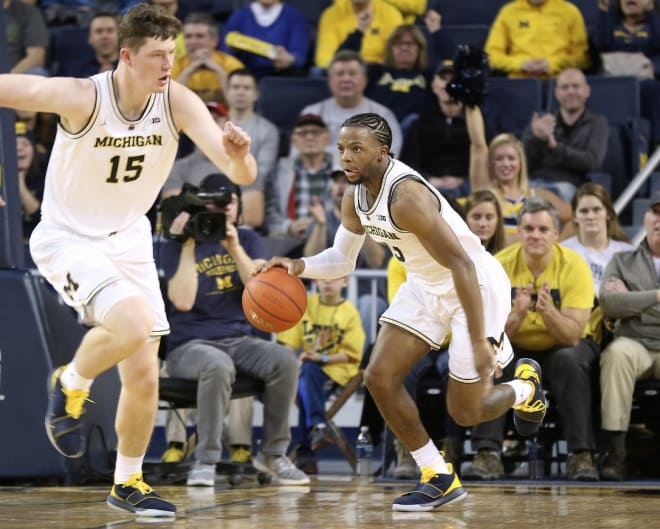Michigan plays at Wisconsin on Saturday at noon.