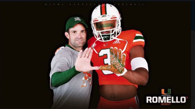 CaneSport - Height comes face to face with opportunity on official visit