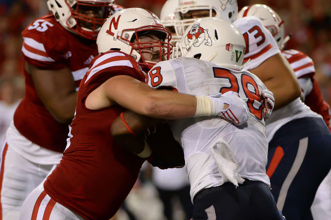 Getting consistent pressure from the front four will be crucial for Nebraska on Saturday.