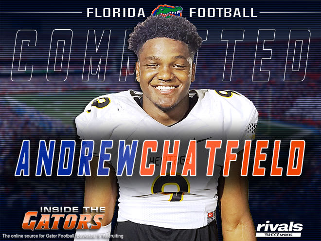 Talented South Florida DE/OLB Andrew Chatfield commits to Florida
