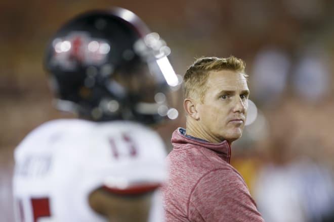 Head coach Blake Anderson