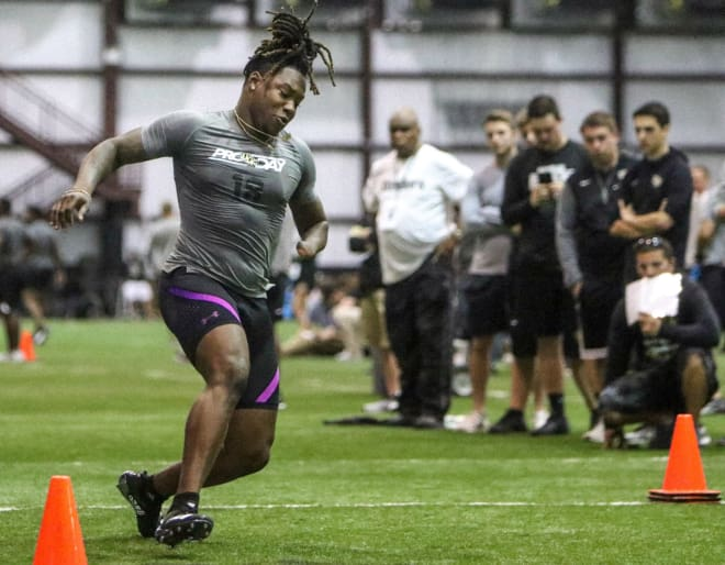 Seahawks executive on hand to watch Shaquem Griffin at Pro Day